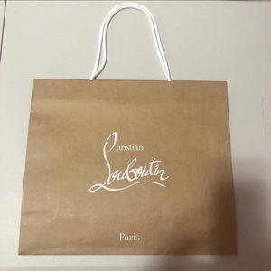 Christian louboutin gift bag
